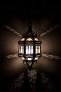 Orientalische Hänge-Lampe / Gharra