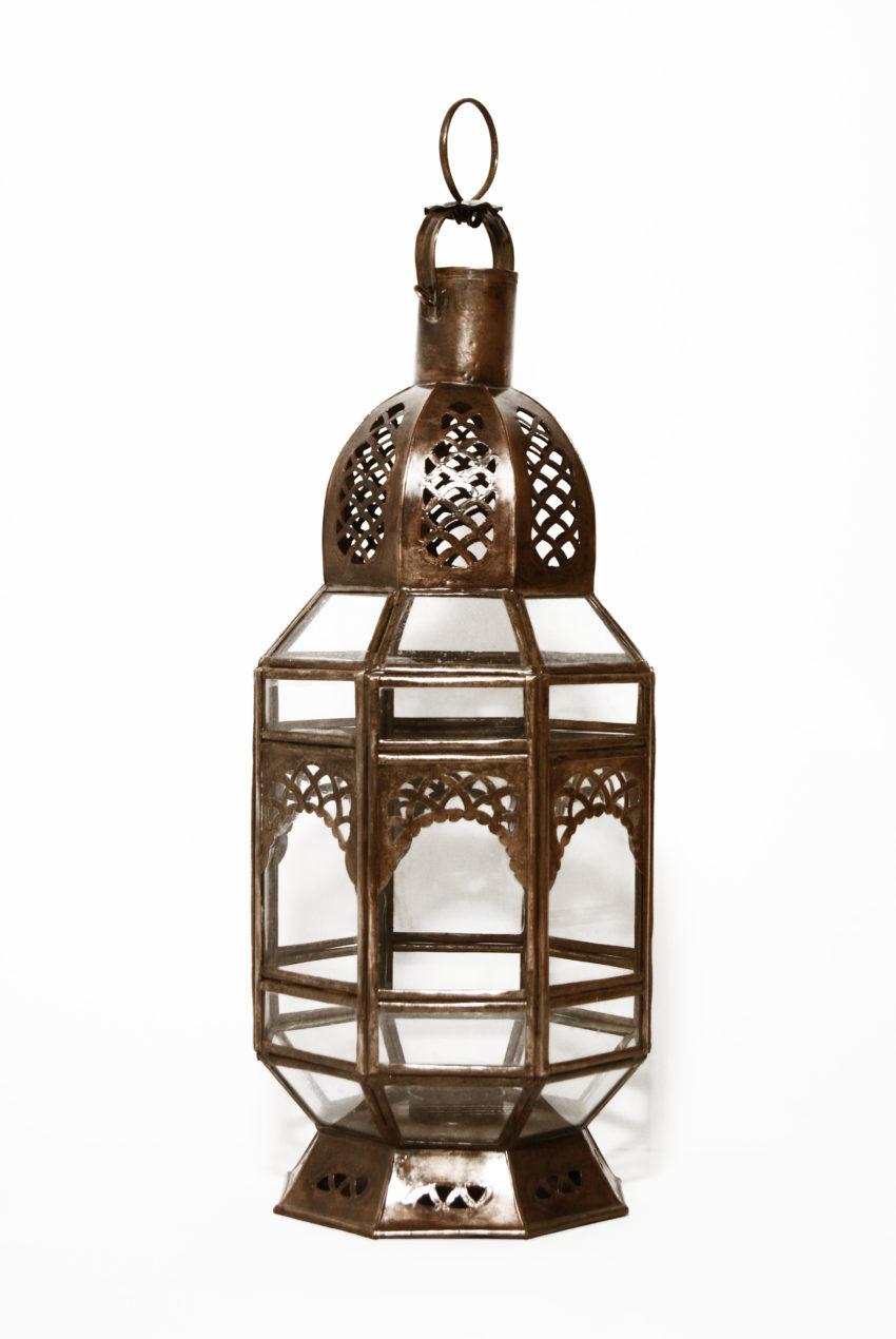 Orient Laterne Badra ein Kunsthandwerk aus Marokko