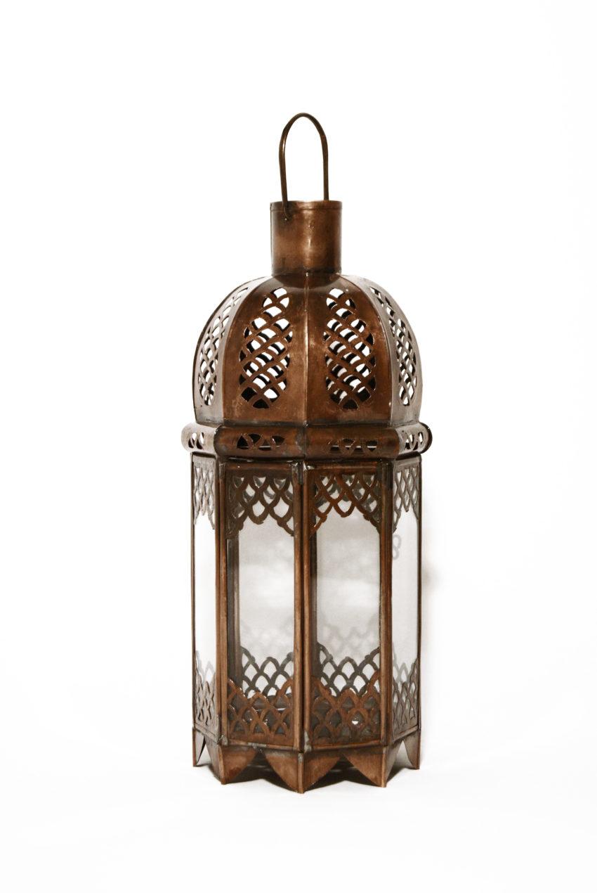 Orientalische Laterne Lana handgefertigtes Unikat aus Marokko.