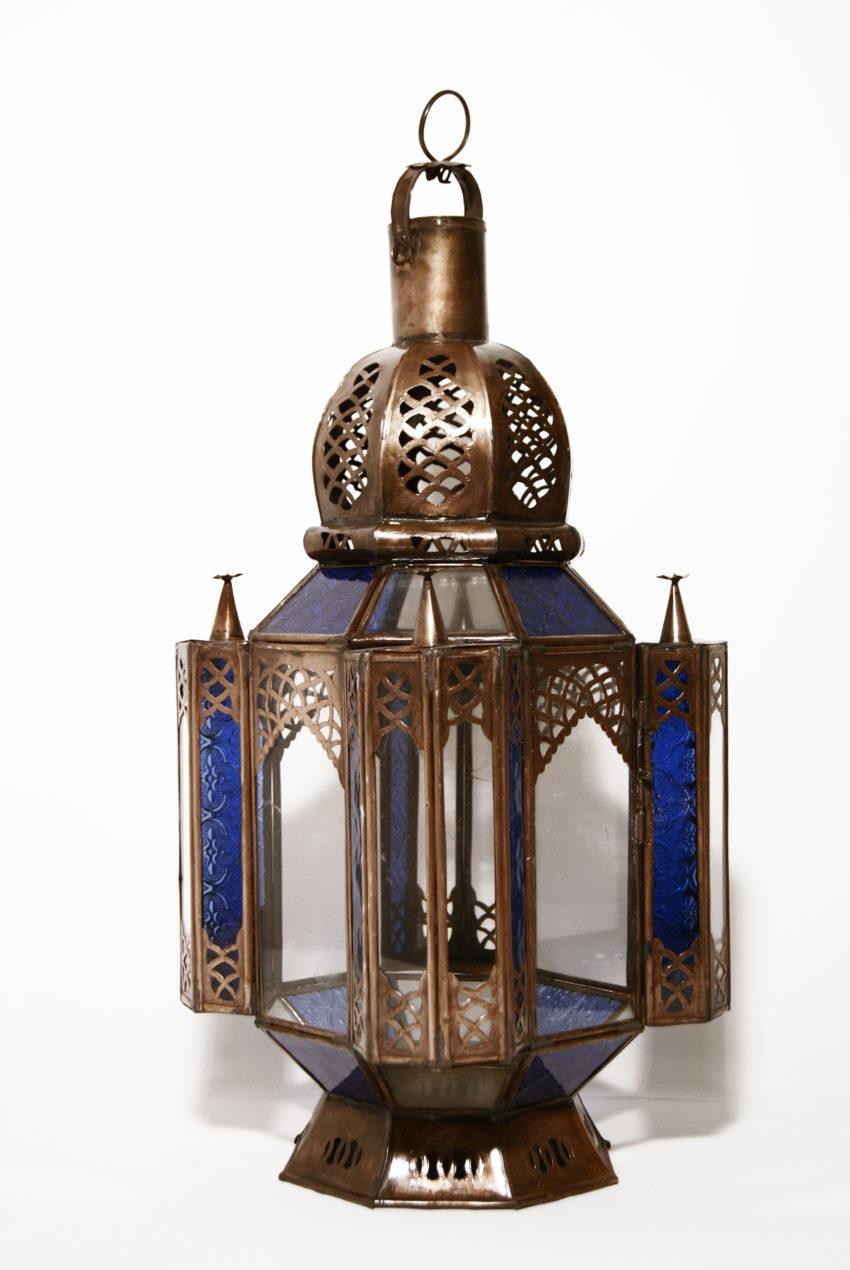ientalische Glas-Laterne / Sahra