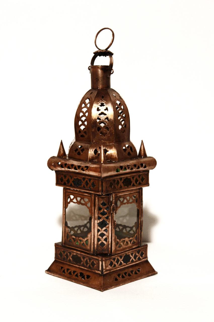 Orient Laterne Alibaba / Orientalisches Kunsthandwerk aus Marokko