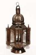Die arabische Laterne wird in Marokko von ausgewählten Künstlern hergestellt. Die Orient Laternen verzaubern Ihre Umgebung in ein Ambiente aus 1001 Nacht.