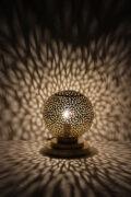 Die arabische Tischlampe Yemina werden in Marokko von ausgewählten Künstlern hergestellt. Einzigartige Tischlampen erhältlich bei El-Fesi / Oriental Art Decor.