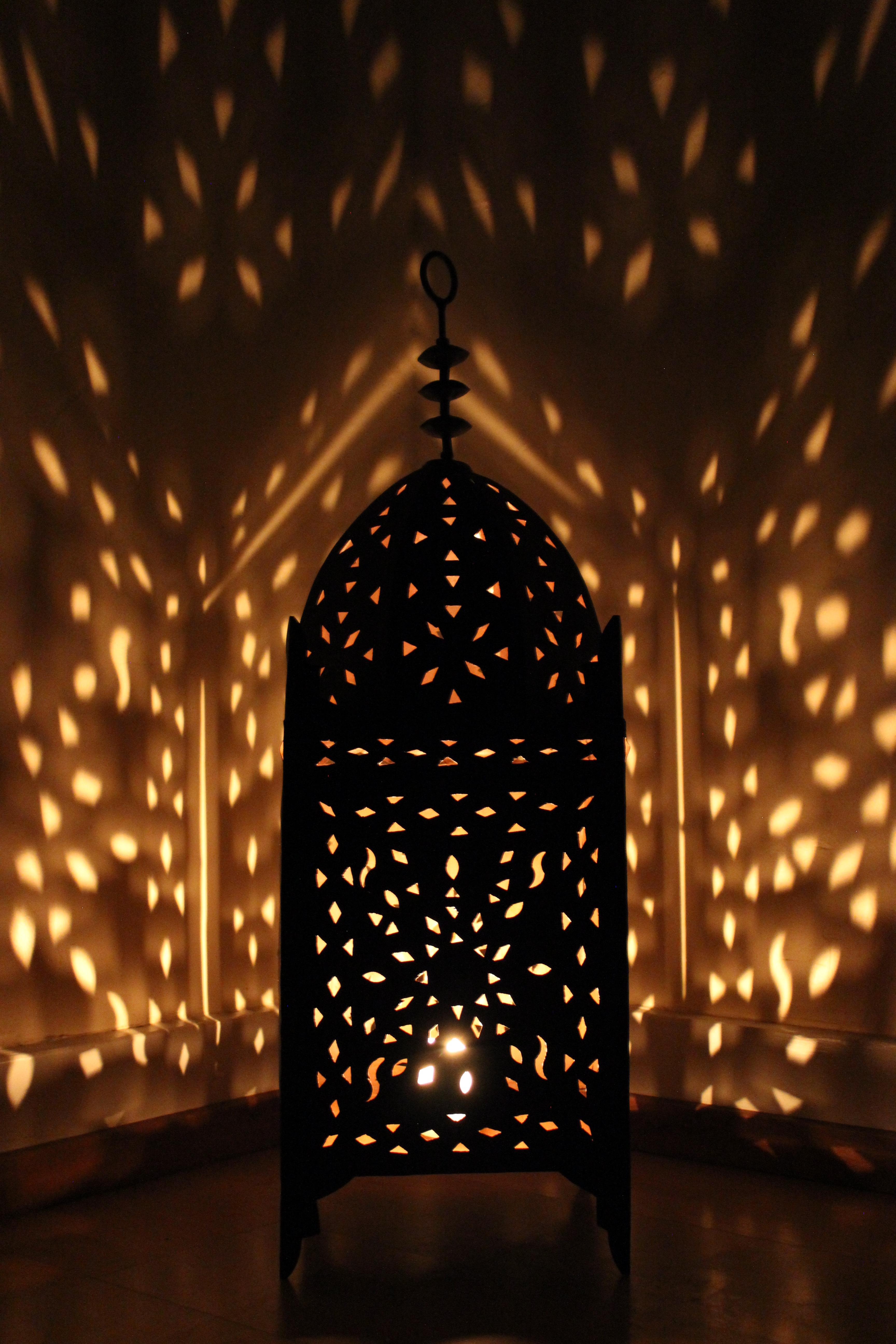 El Fesi Ihr Orient Shop Orientalische Eisenlaterne Fatima