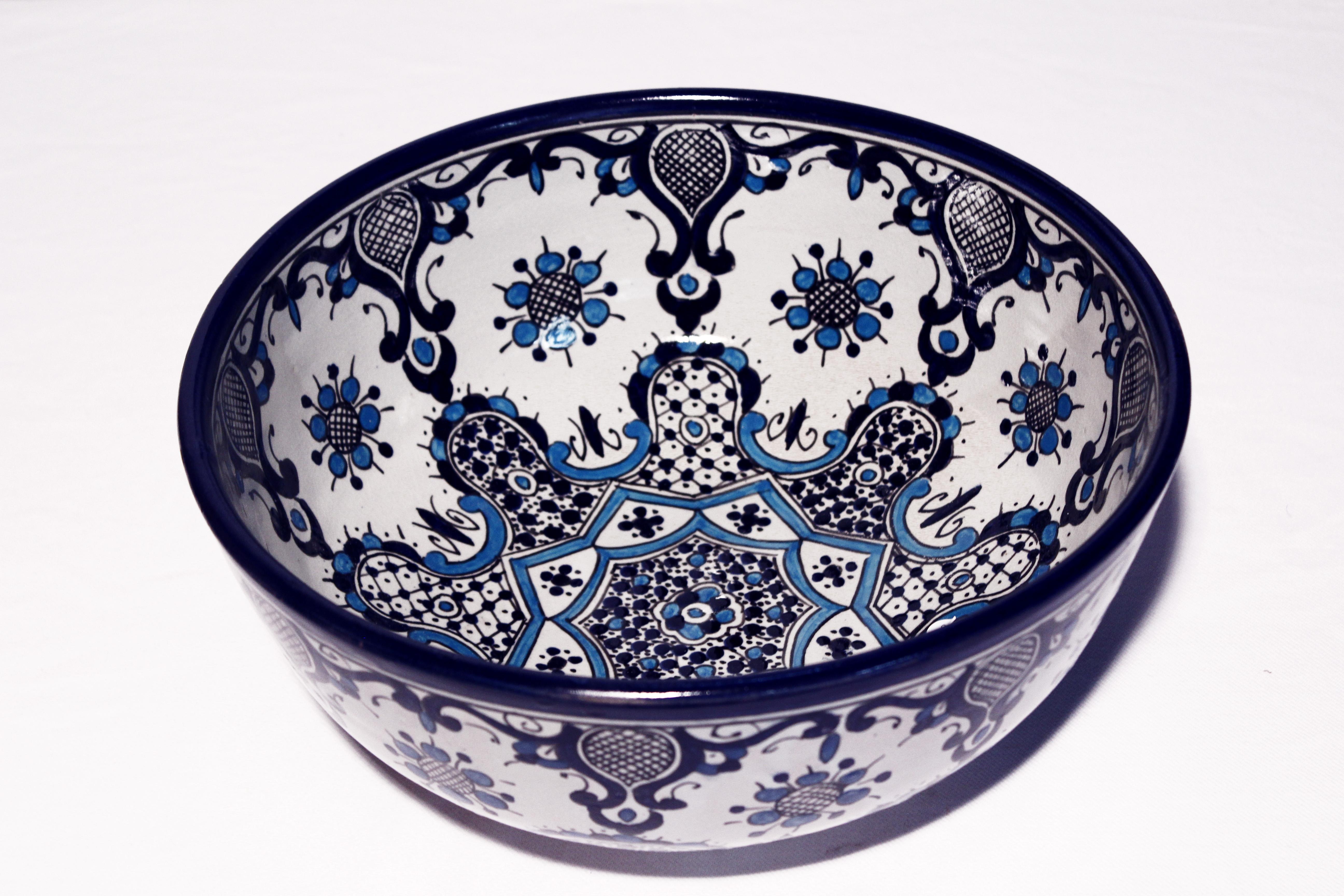 Orient Schussel Yassin El Fesi Oriental Art Dekor Orient Geschirr