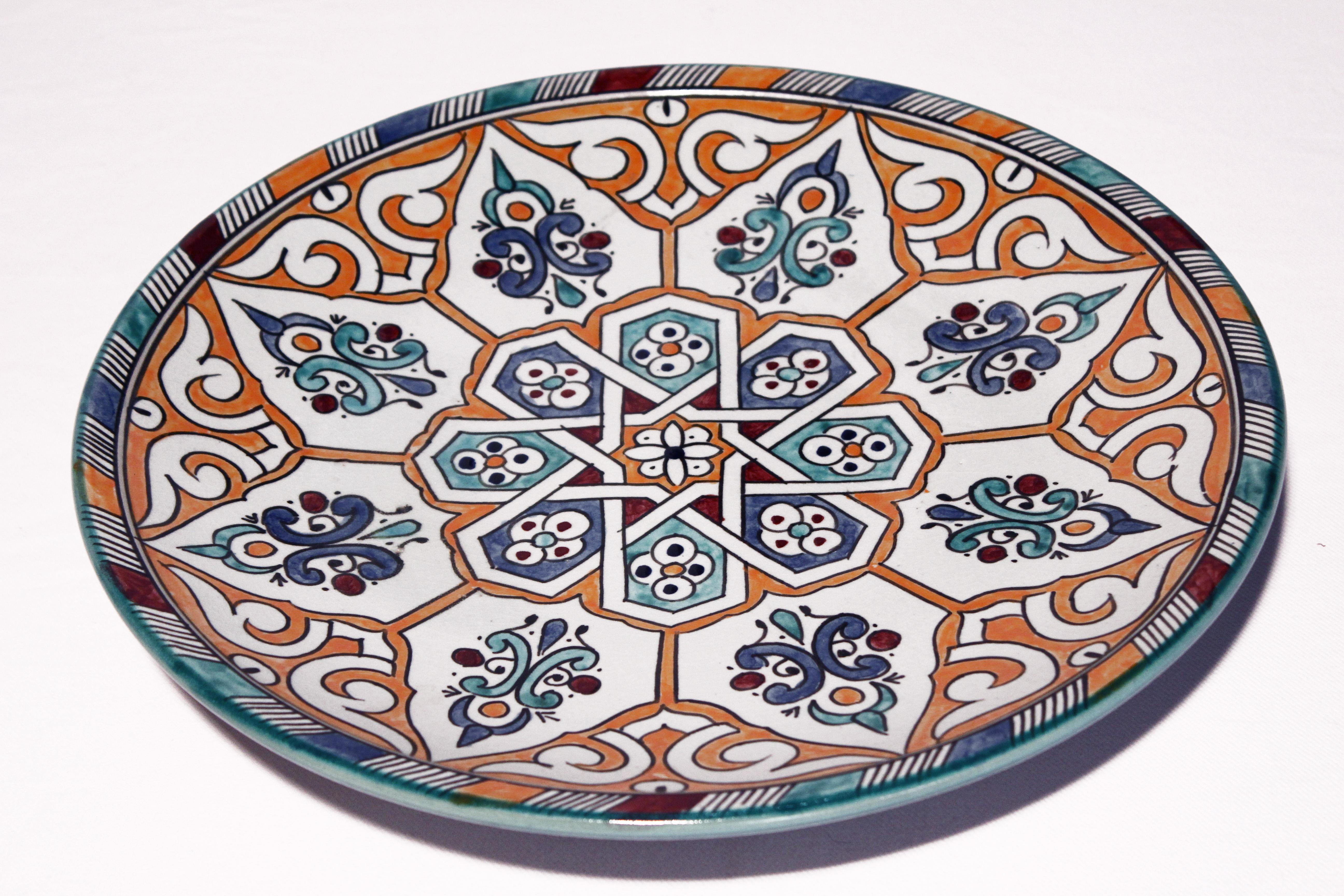 Servierteller Mina El Fesi Orientalisches Dekor Orientalische Teller