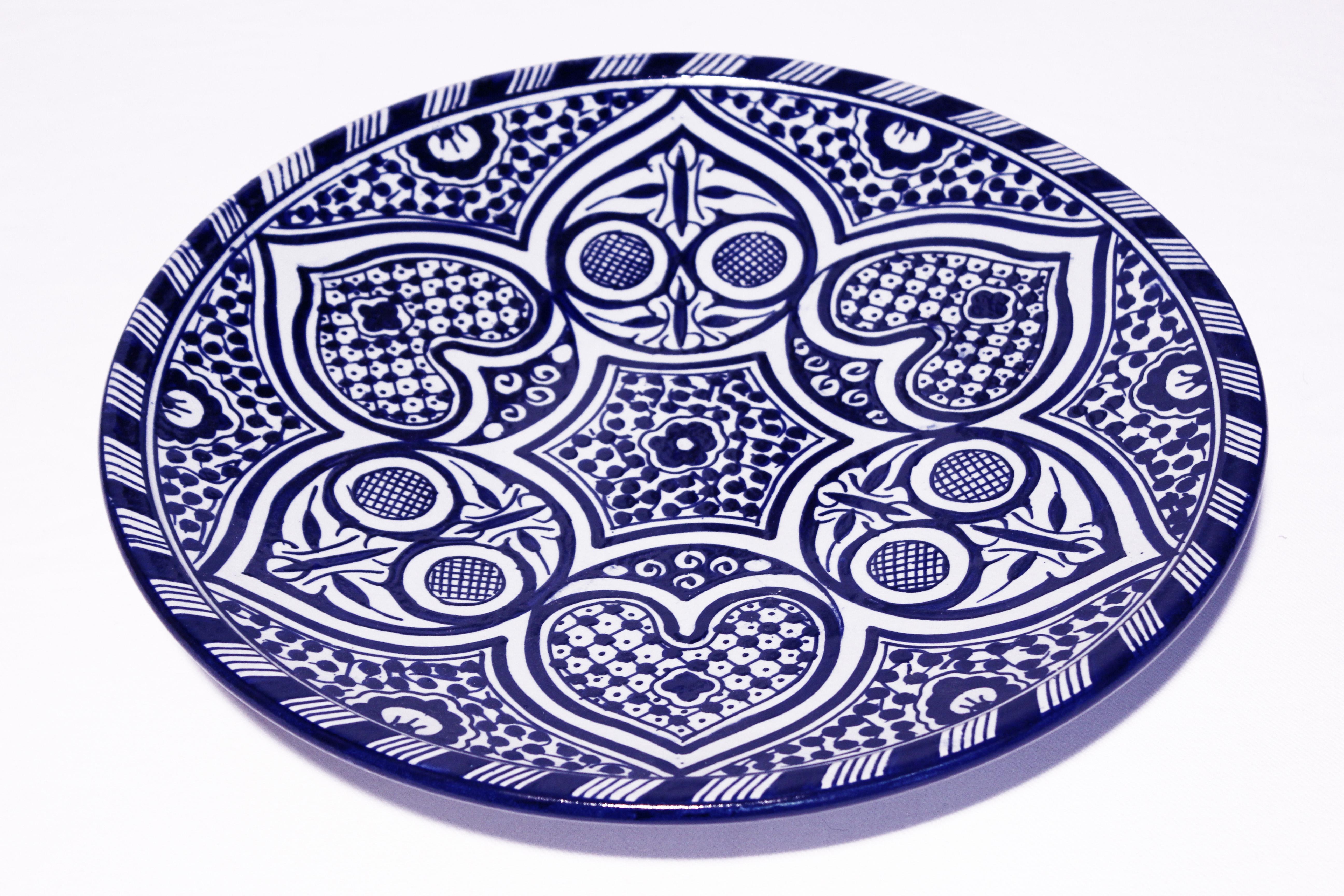 Servierteller Nadine El Fesi Orientalisches Dekor Orientalische Teller