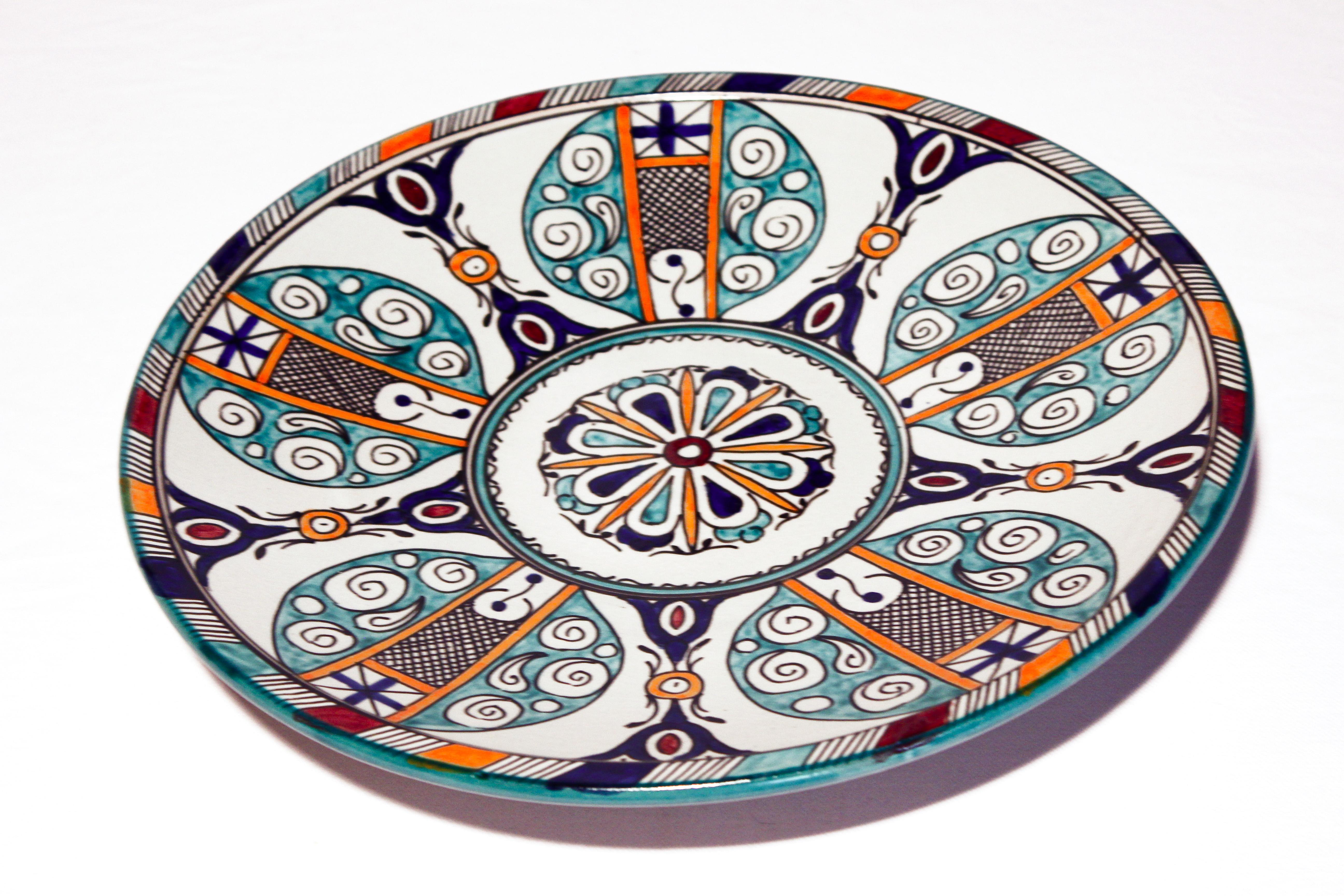 Servierteller Salina El Fesi Orientalisches Dekor Orientalische Teller