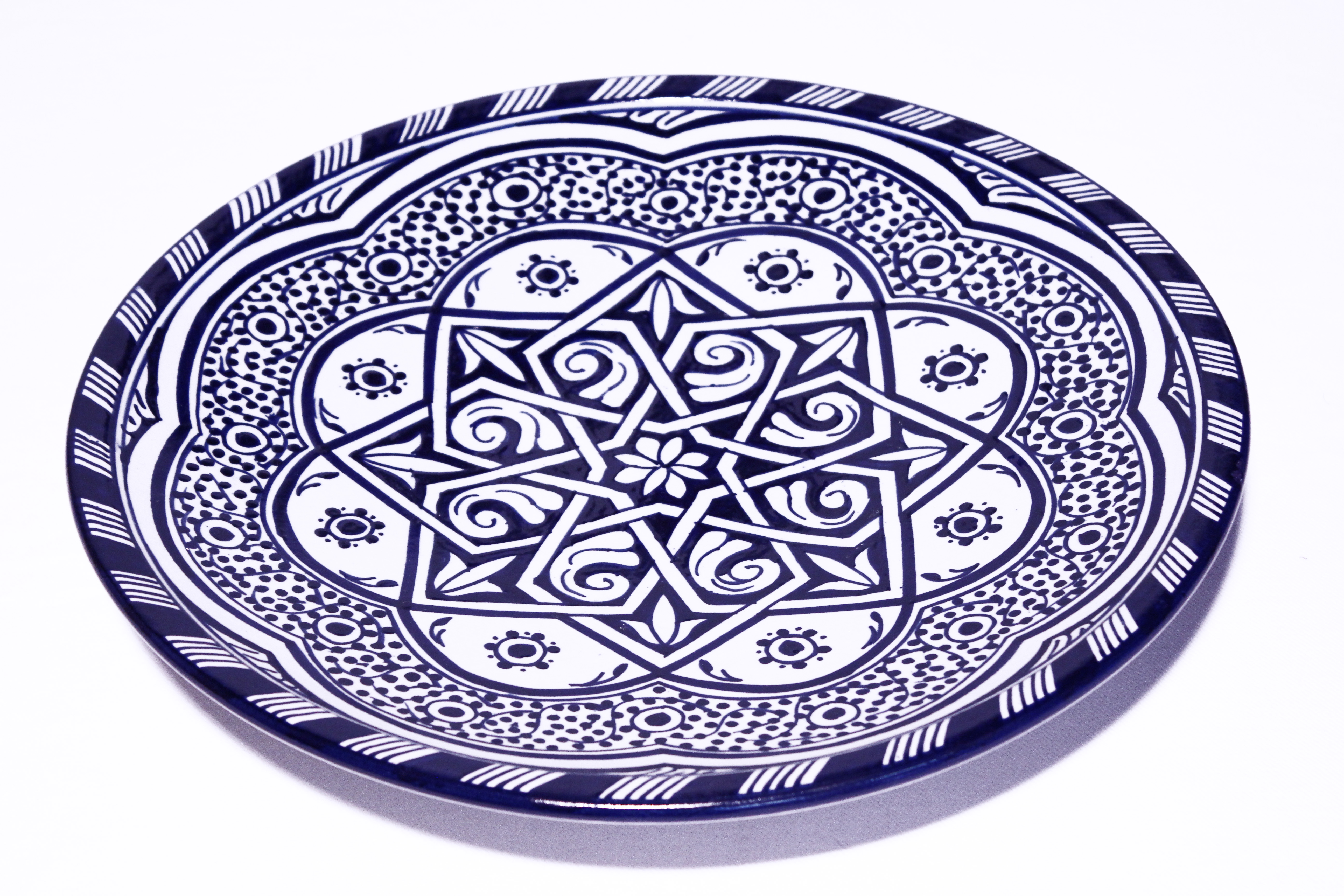 Servierteller Sidi El Fesi Oriental Art Decor Orientalisches Dekor