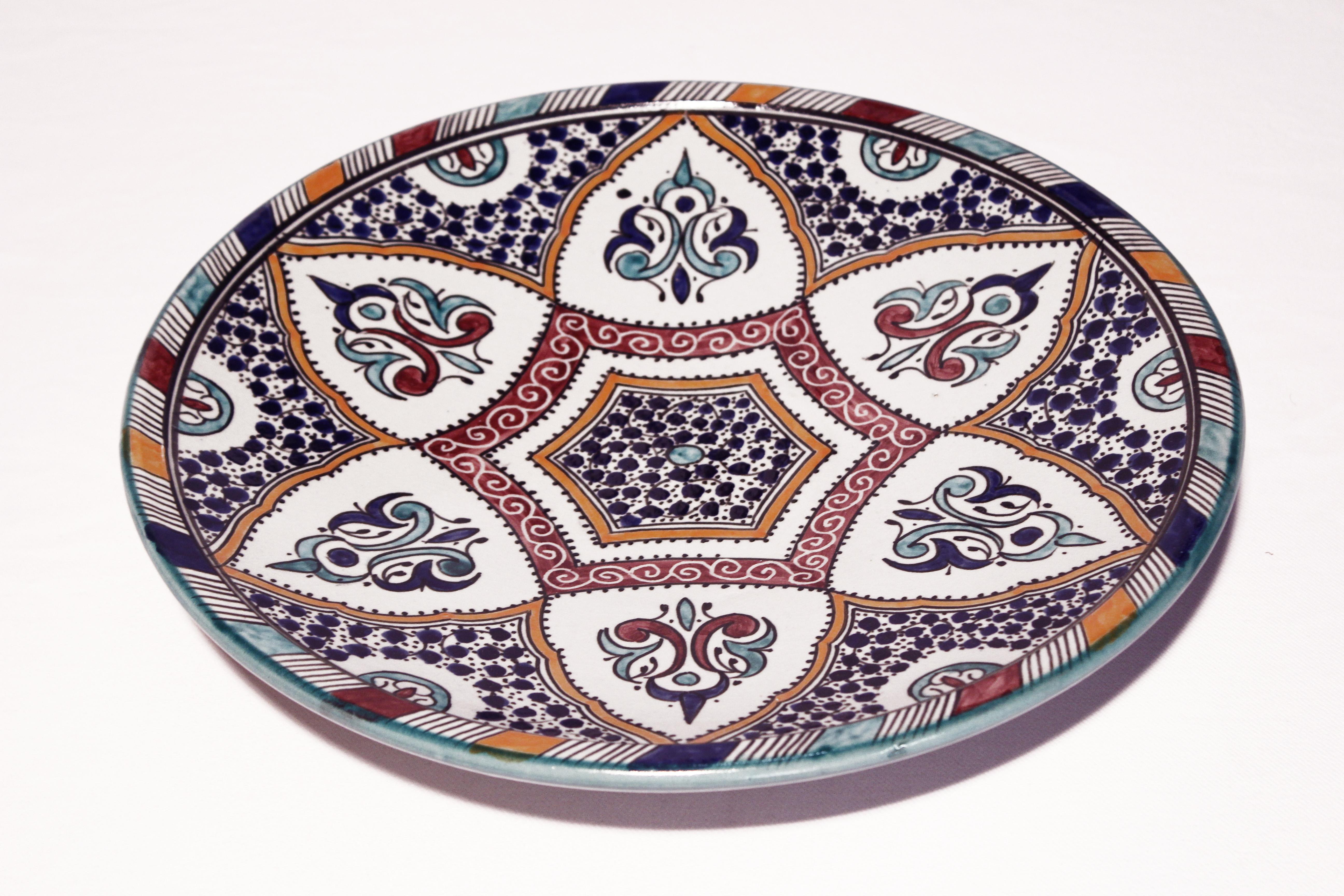 Servierteller Alice El Fesi Oriental Art Decor Orientalisches Dekor