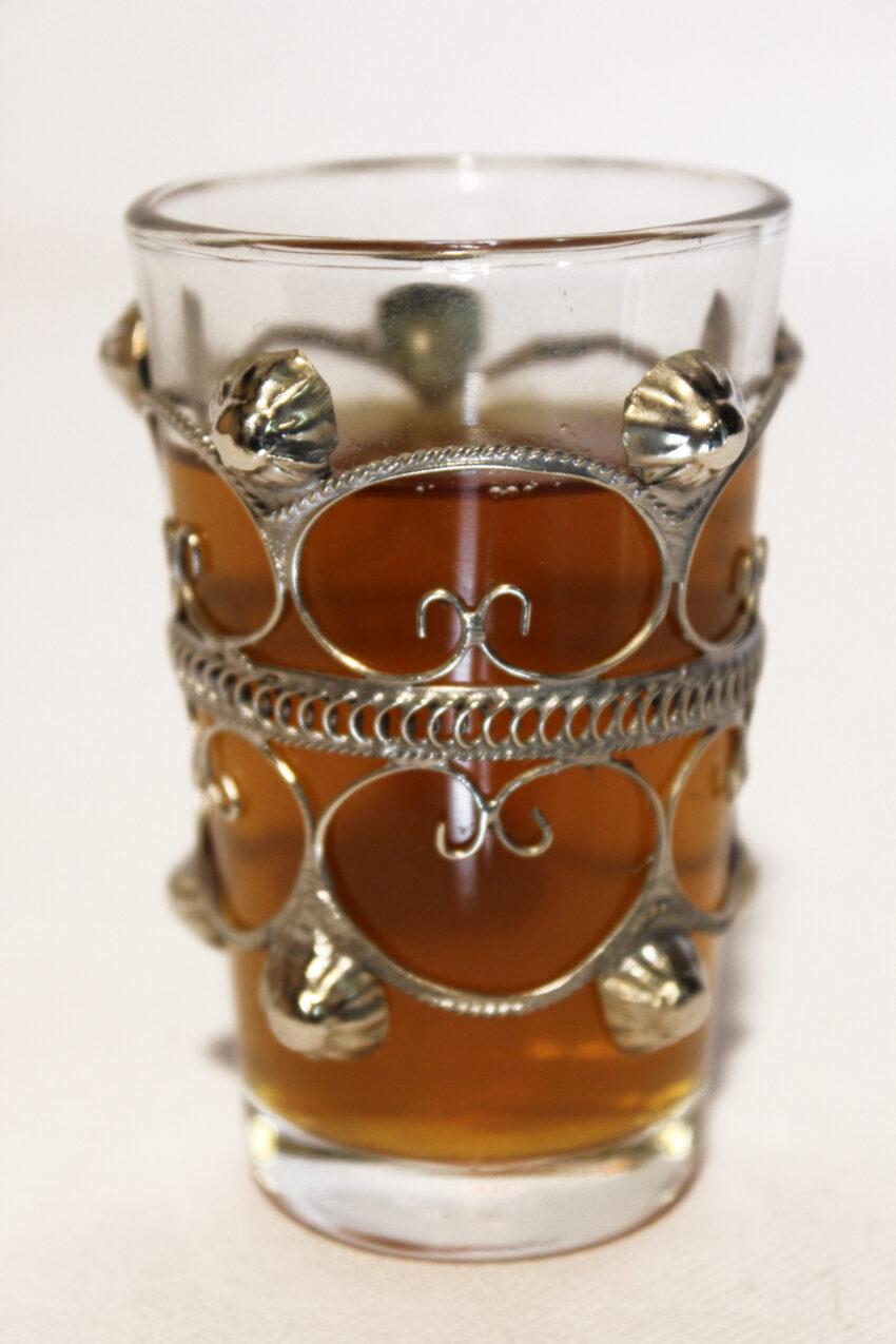 Orient Teeglas Lina: Erhältlich im Onlineshop von El-Fesi/Oriental Art Decor - Orientalisches Teezubehör.