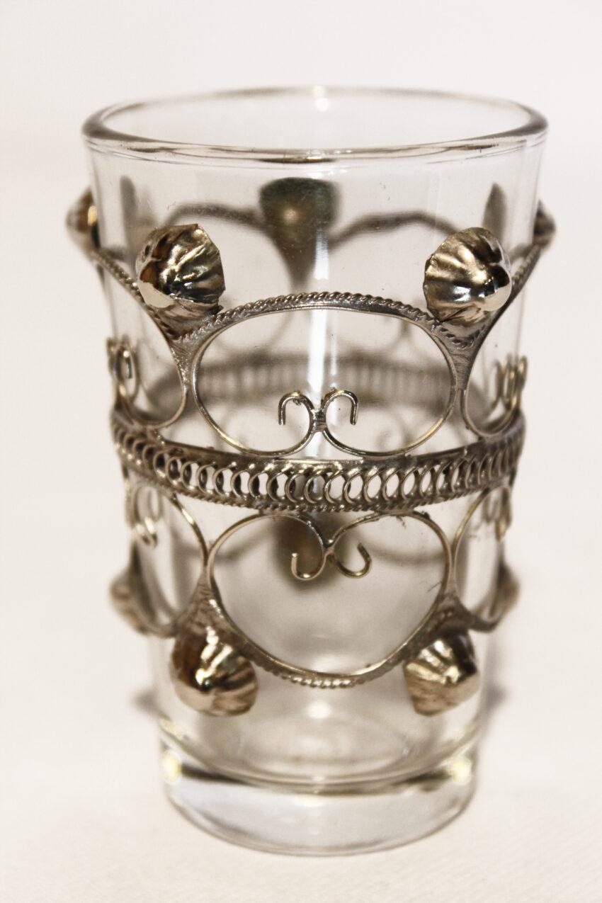 OrientTeeglas Lina: Erhältlich im Onlineshop von El-Fesi/Oriental Art Decor - Orientalisches Teezubehör.