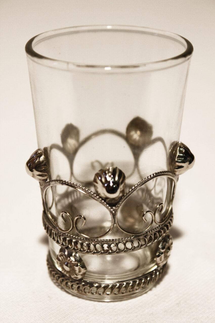 Orient Teeglas Mina: Erhältlich im Onlineshop von El-Fesi/Oriental Art Decor - Orientalisches Teezubehör.